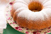 cake con farina di riso e semi di papavero