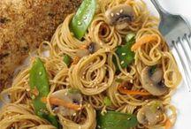 Pasta / Asian soba noodles