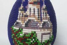 яйца бисерные