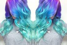 Gorgeous hair colours