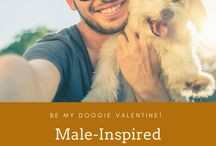 Valentine's Day with Your Pets / We all love our dogs and it's always fun to do something special for them on Valentine's Day. I include gift ideas for pet lovers too.