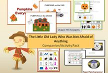 Fall Classroom Activities / Various ideas for fall activities for teachers, speech therapists and special education teachers
