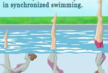 Syncronized swimming