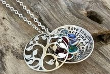 Grandma birthstone tree locket