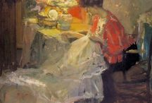 Women at art