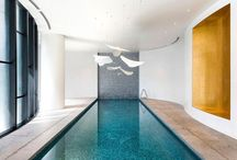 Mosaic Pools / Luxury indoor and outdoor swimming pools made of Sicis iconic glass and marble mosaic.