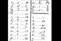 Codes and fonts