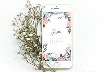 brush floral