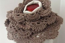Crochet Scarfs, Cowls, Neckwarmers / Anything to dress up the neck!  / by Rebecca Becker-Davis