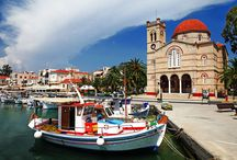 Aegina, Greece / Nontas fish restaurant is located in the picturesque Perdika village in Aegina island. Aegina island is only 60 minutes from Piraeus port by boat and 45 minutes with the hydrofoil. This beautiful island near Athens is actually a great daytrip destination.