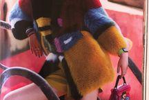 Luxe faux furs  / Colorful faux fur