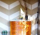 new house- powder room / by Kirsten Bingham