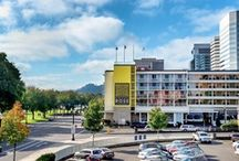 Hotel Rose / Portland's Piece of Pineapple Hospitality: a fun and friendly boutique hotel located directly across from Tom McCall Waterfront Park on the Willamette River. / by Pineapple Hospitality Portland