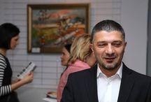 Wernisaż Davida Pataraia / W czwartek 10 października 2013 r, w Galerii Art Pistols mieszczącej się w Miasteczku Wilanów przy ul. Sarmackiej 10 odbył się wernisaż prac  gruzińskiego malarza. David Pataraia.