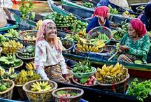 The canals of Banjarmasin