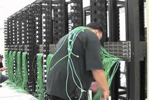 Data Centre Cabling / Well thought out cabling plan is the foundation of an infrastructure and is critical to Data Centre uptime. / by Sentrum Colo