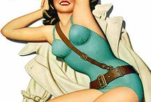 Pin-ups by Enoch Bolles