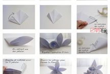 papir kvety