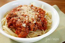 Pasta Stuff / by Deanna Baker