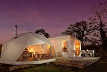 Glorious Glamping / As fun as camping is, sometimes a little bit of luxury goes down very well! Check out these amazing glamping spots.
