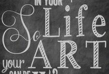 chalkboard art / by Diana Wilke Peterson