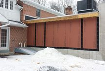 """Lititz Project / 6"""" half round gutter and 6"""" leaf relief with custom bent drip edge"""