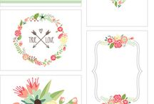 DIY printable Labels for handmade gifts