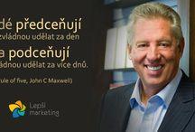 Marketingové citáty / Citáty úspěšných podnikatelů a marketingových myslitelů.