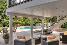 Under Deck Systems / Under Deck Systems is more than a ceiling that channels water away from a structure but also allows you to take advantage of usable space under your deck.