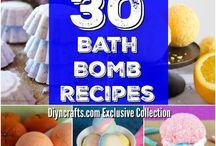 Bath bombs Love