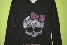 decoración de camisetas y mas / recopilación de camisetas decoradas que muy amablemente manualistas comparten en la web..