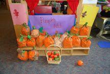 PreK: Pumpkins