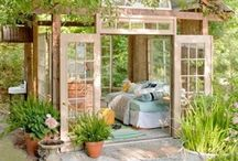 Adorable/Whimsical Sheds