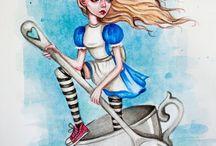 Alice in the wonderland