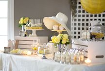 Yellow party styling