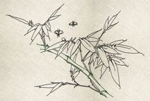 Japanese traditional nature minimalistis