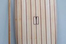 Stand up paddle boards in balsa wood