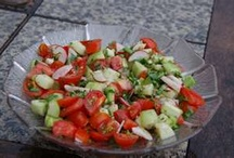 Recipes - Salads, Dressings & Salsas / by Deb Ammer