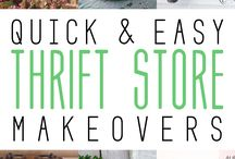 Thrift Store Makeovers / by Ann @ Duct Tape and Denim