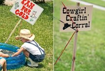 cowgirl/cowboy party / by Kristina Jameson-Petersen