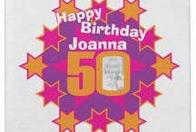 Birthday / All my original birthday designs on invites, badges, cards, gift wrapping and other products.