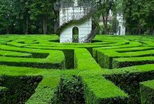 Mazes and topiary