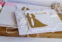 ślub, weding day / Ręcznie wykonane przedmioty, kartki, zaproszenia, albumy wykonane z okazji ślubu, wykonane z materiałów marki Papelia oraz innych produktów dostępnych w sklepie Craft Style