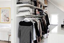 Dressing room + garderobe + entre