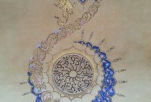 Tezhip/Arabesque Patterns
