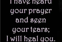prays to heal your wounded heart