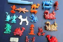 CEREAL BOX TOYS FROM THE 60'S & 70'S.
