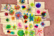 school stuff art / kindergarten art / by Angie Bonthuis