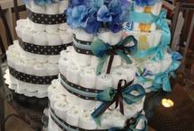 Tortas/pasteles de pañales