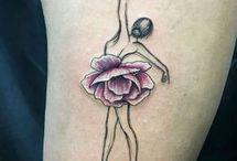 Dancer tattoo